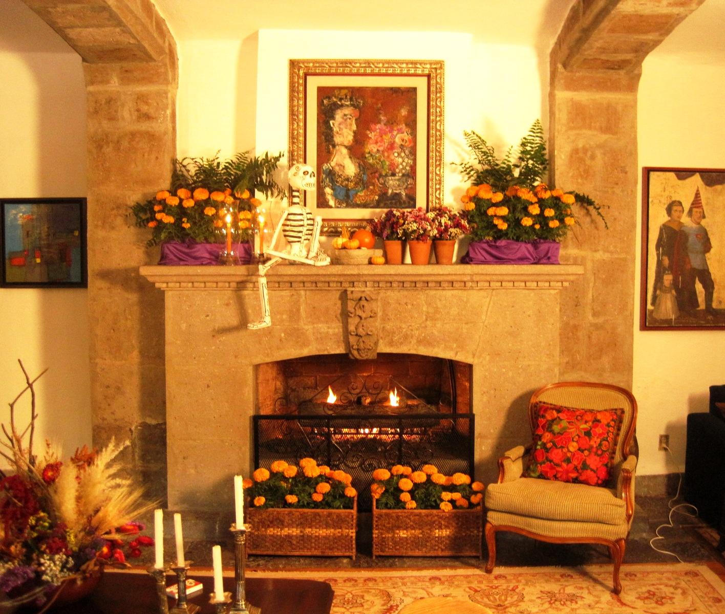 Mart nez sordo decoraci n de d a de muertos y oto o for Ideas para decorar la casa en otono