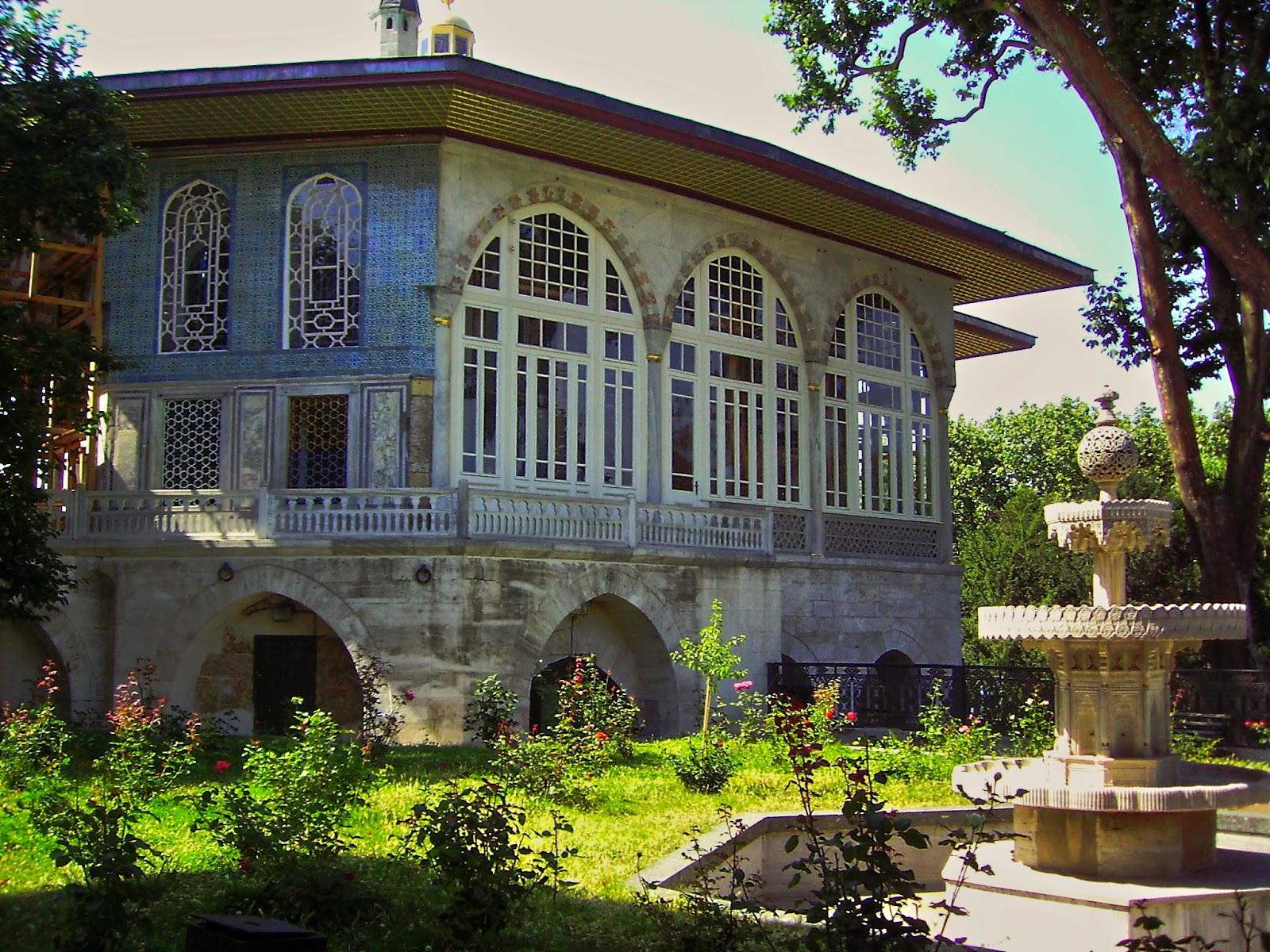 Topkapı Sarayı'nın Mimarisi