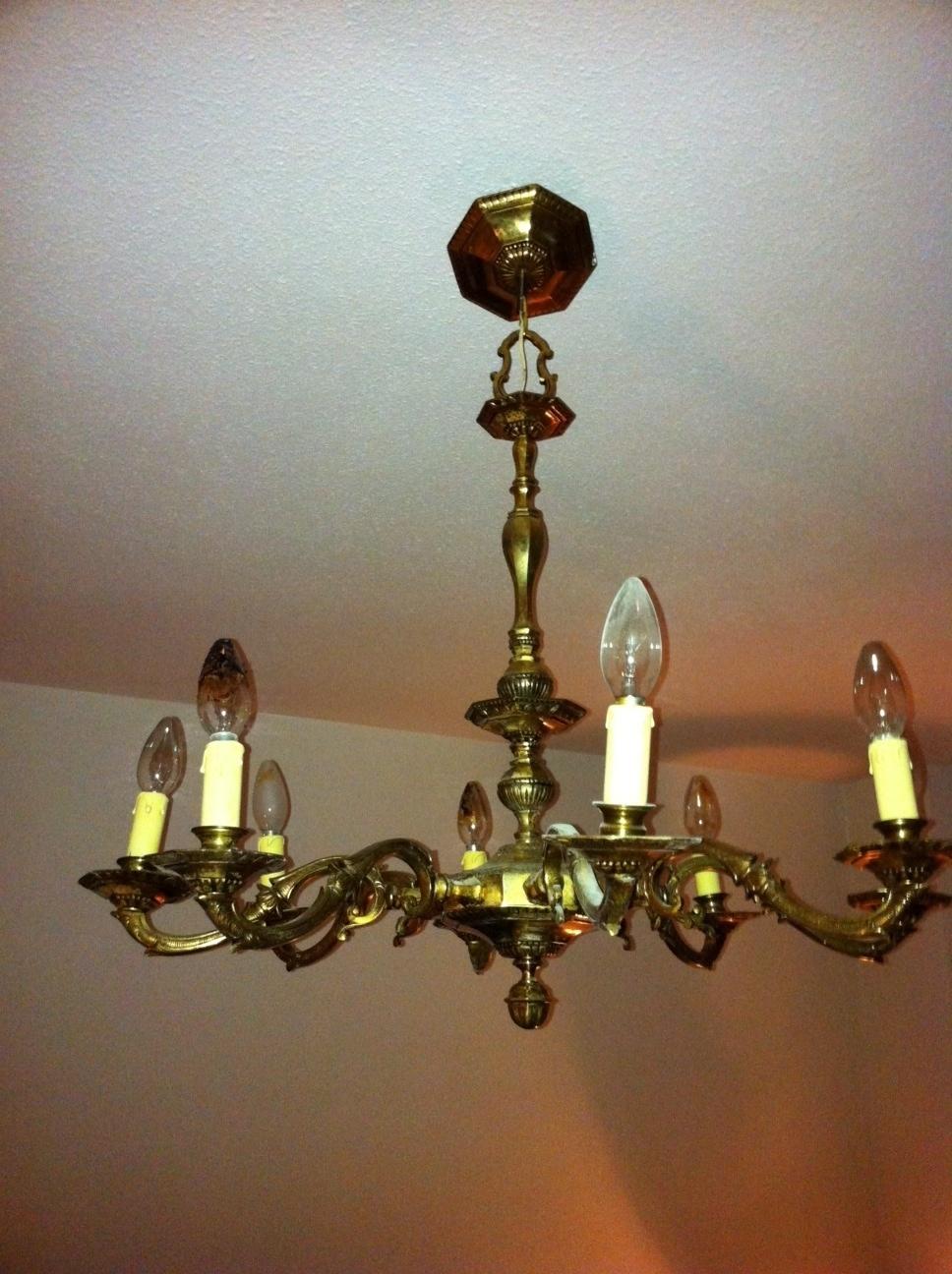 Restauracion muebles compra venta de lamparas antiguas - Precios de lamparas ...
