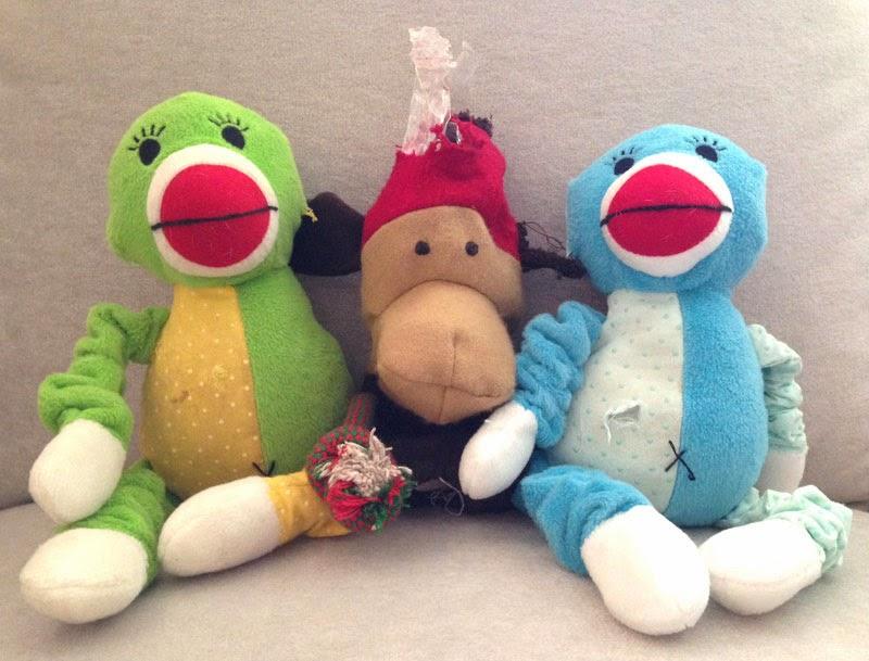 misfit dog toys
