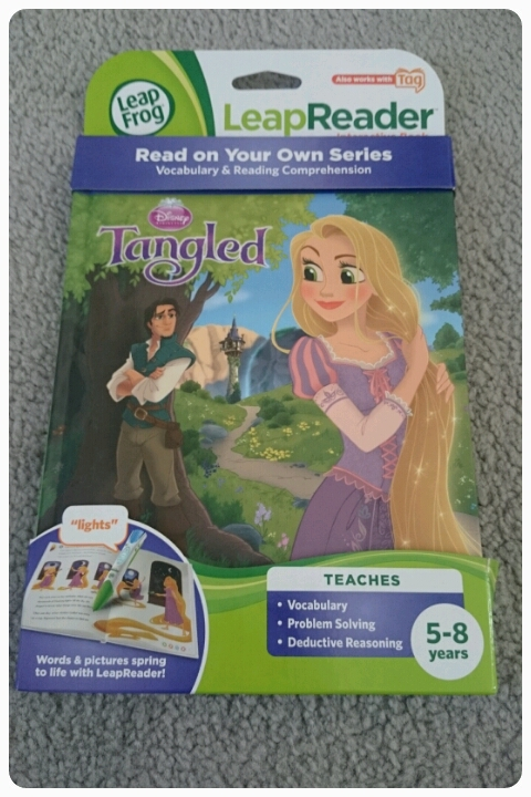 disney's tangled leapreader book