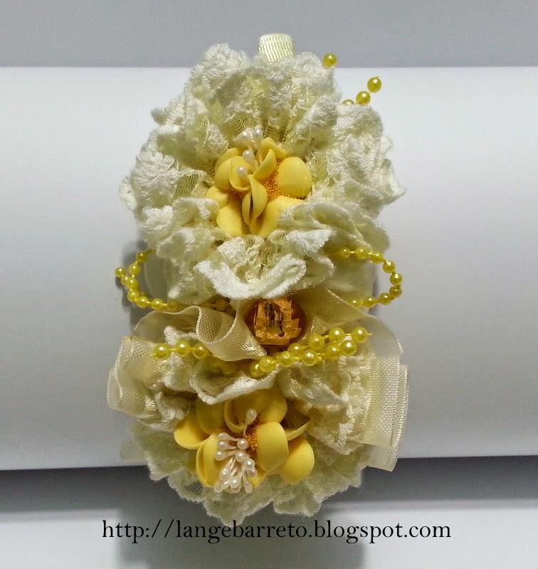 Flor de porcelana fria