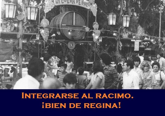 INTEGRARSE AL RACIMO.