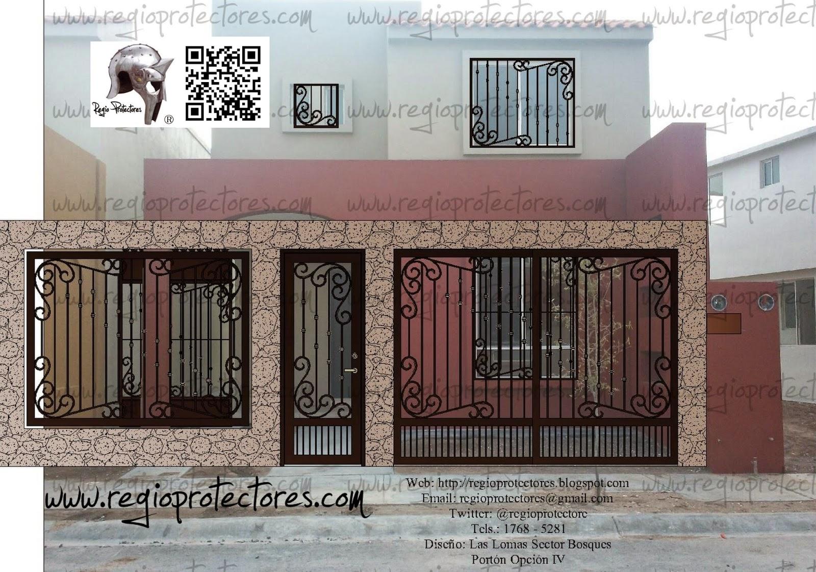 Diseño De Protectores Para Ventana Portón Para Cochera Pórtico Y  #674540 1600 1123 Scarica Gratis Programma Per Progettare Cucine
