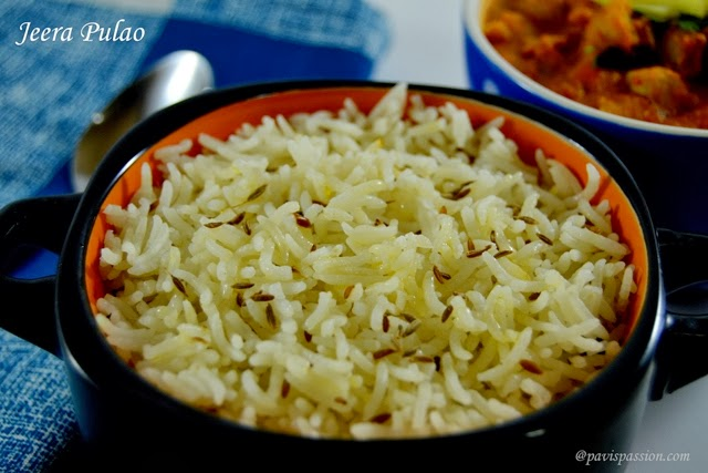 how to make jeera rice in telugu