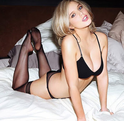 Helen Flanagan tits in FHM
