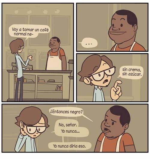 Un café afroamericano