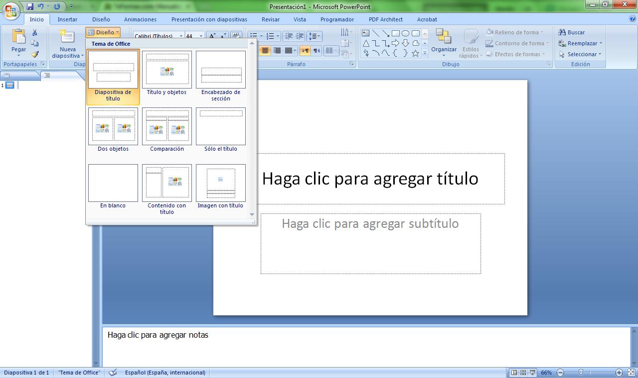 Tutoriales ejercicios y ejemplos pr cticos for Diseno de diapositivas