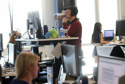 Inside Facebook's Brand New Headquarters