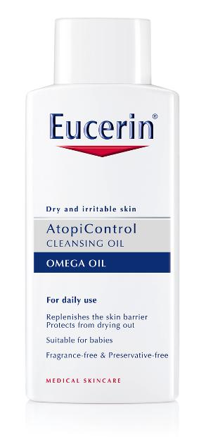 Atopicontrol de eucerin el cuidado ideal para pieles secas irritables o con dermatitis - Eucerin gel de bano ...