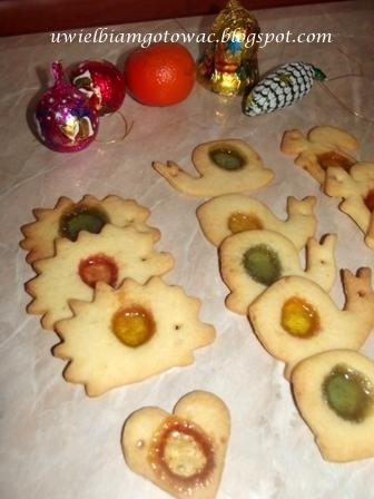 Ciastka Witrażyki