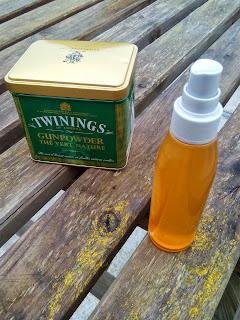 lotion tonique au thé vert maison