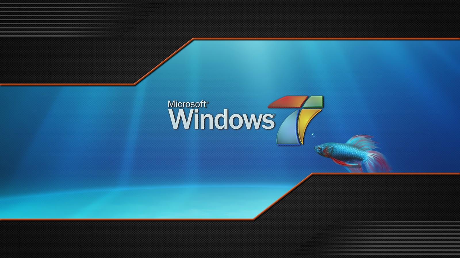 Fondo de pantalla windows 7 con pez wallpapers megas - Fondos de escritorio para windows 7 gratis ...