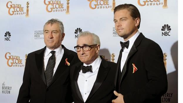 Brad Pitt, Robert De Niro y Leonardo DiCaprio juntos en un corto de Scorsese. Robert De Niro, Martin Scorsese y Leonardo DiCaprio. MÁS CINE. Noticias. Making Of