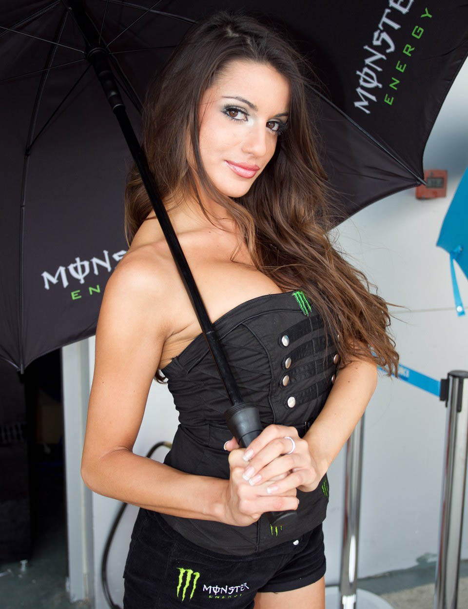Umbrella Girl Motogp 2011