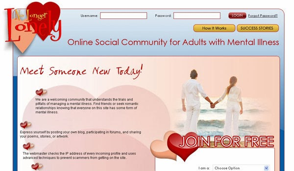 online dating mental illness According to dr phil mcgraw, popular mental health expert and host of daytime talk show dr phil dangerous liaisons: the risky side of online dating.