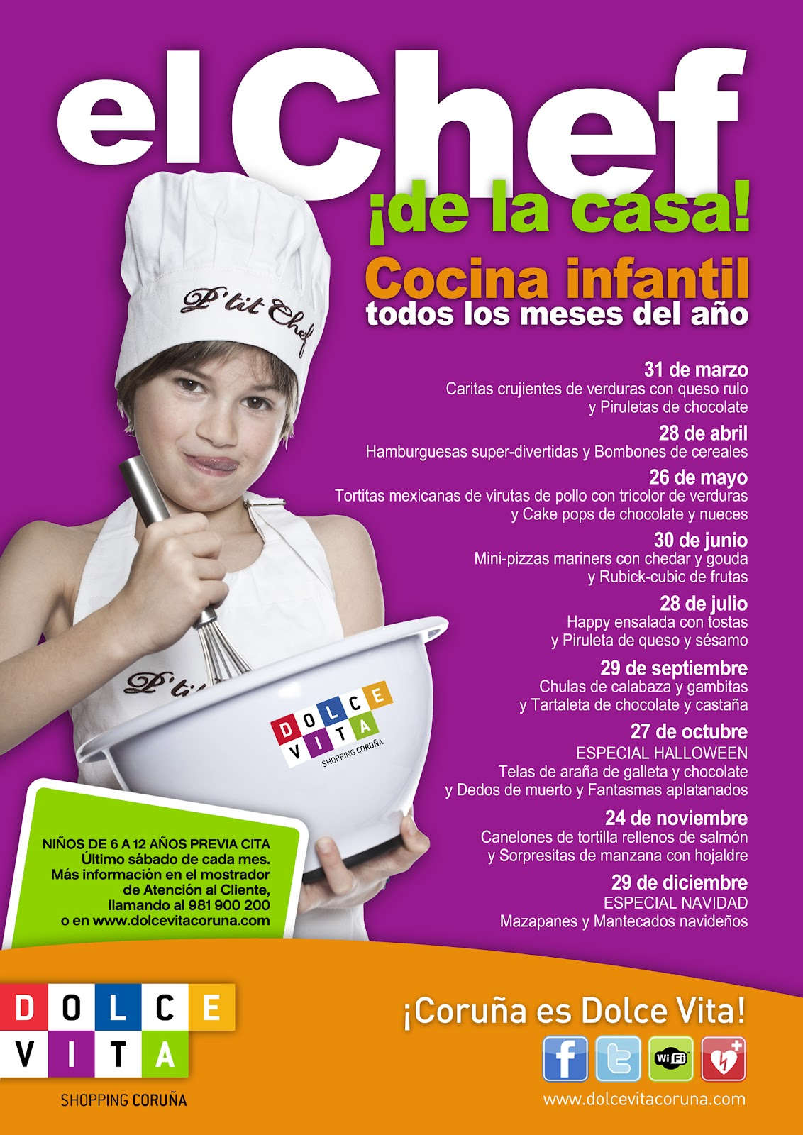 La cocina de tarta de fresa cursos de cocina para ni os - Cursos de cocina para ninos en madrid ...