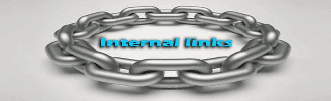 What is Internal links