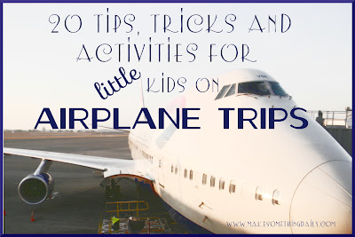 tips and tricks for airplane travel with kids
