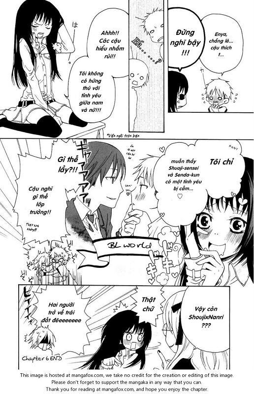 Boku no Ushiro ni Majo ga Iru Chap 6 - Next Chap 7