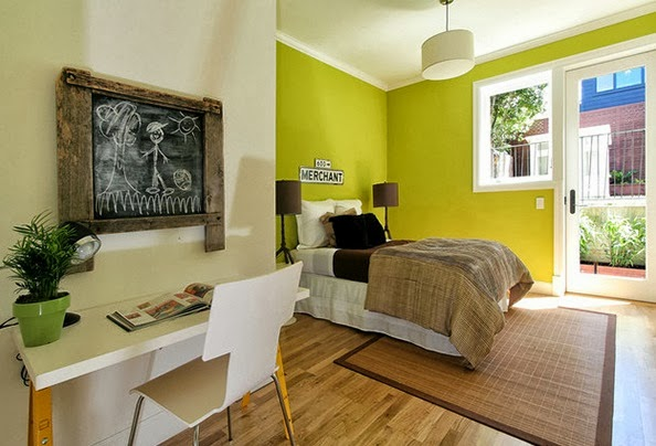 Home interior exterior design achitect designs home for Lime green bedroom designs