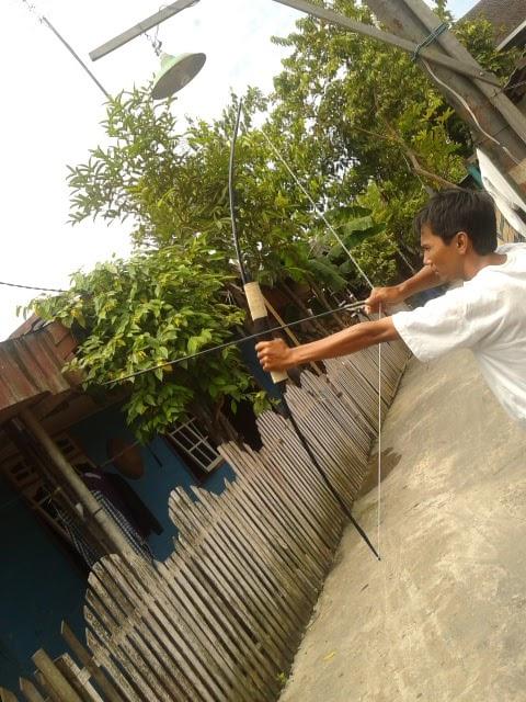 Busur Panah Tradisional Busur Panah Berburu Khas