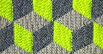 Crochet For Children Crochet 3d Blanket Free Pattern