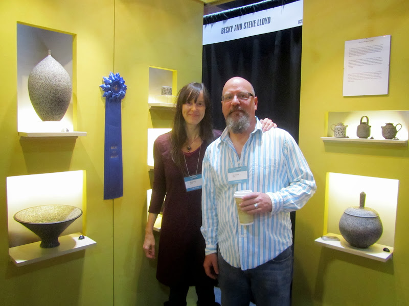 Above: Becky and Steve Lloyd. Best of Show winners  and  title=