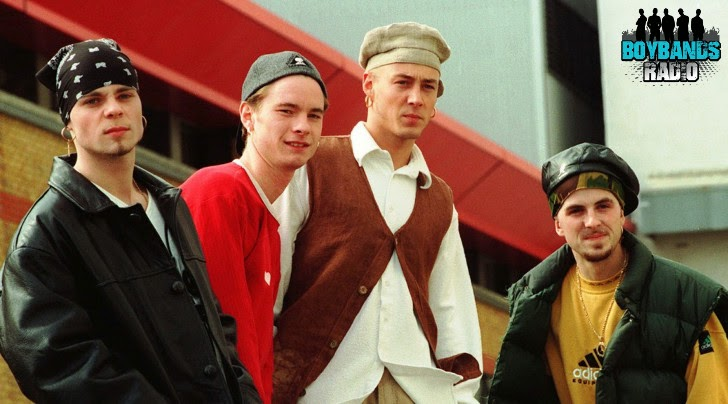 Terry Coldwell, John Hendy, Brian Harvey and Tony Mortimer formed boyband East 17 in the early 90s in London.