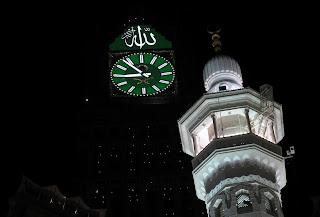 Wallpaper Menara Jam Mekkah