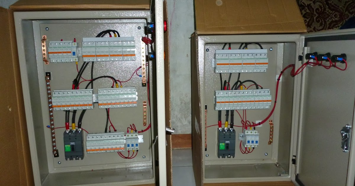 Etnik Sugitama Engineering  Panel Feeder Untuk Lampu Dan Ac - Untuk Banyak Sakelar