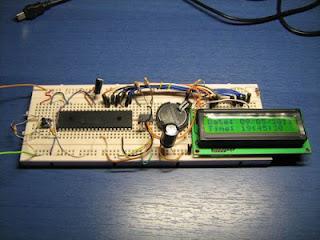 Relógio com PIC e RTC DS1307