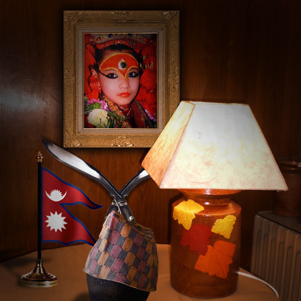 ... is of exceptional quality hand painted by nepali and tibetan artist