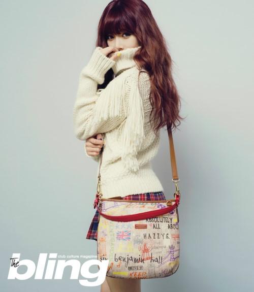 Hyuna majalah The Bling 01