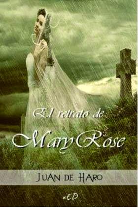 """Portada de """"El retrato de Mary Rose"""" de Juan de Haro"""