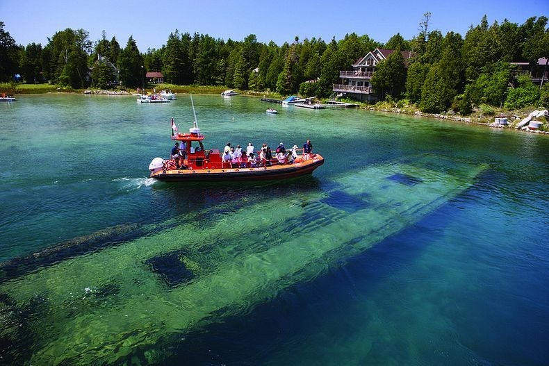 World of technology shipwrecks at big tub harbour in lake huron sciox Gallery
