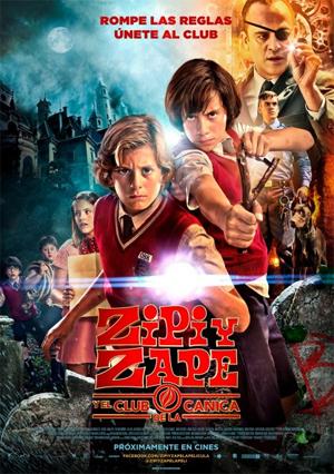 Poster Zipi y Zape, y el club de la canica