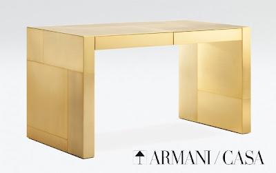 escritorio de oro