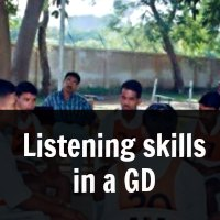 Importance of Listening skills in a GD at SSB