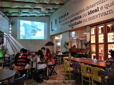 Utopia Resto-Bar: Ambiente Externo