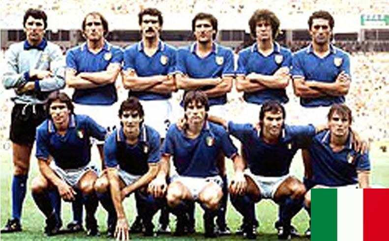 Finale de la coupe du Monde de Football 1982 Espagne