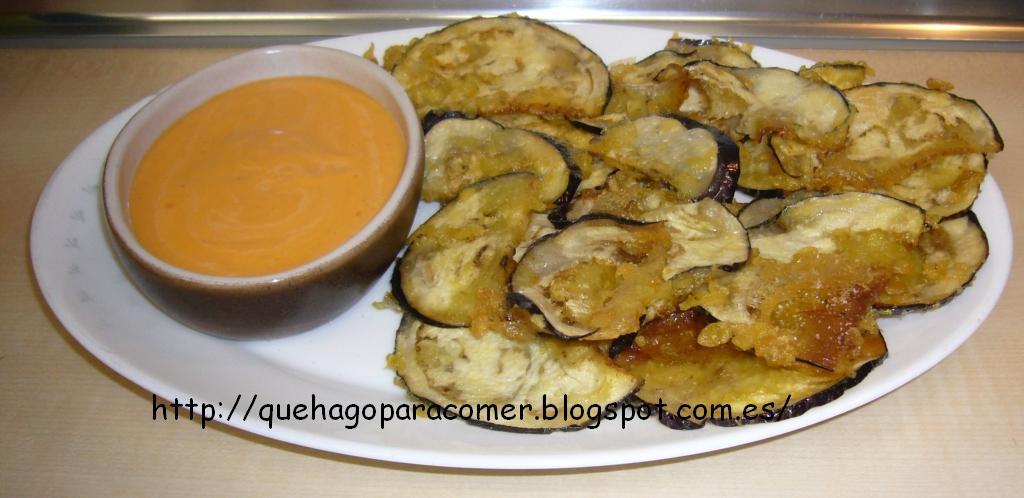 Qu hago para comer tempura de berenjena - Que hago de comer rapido y sencillo ...