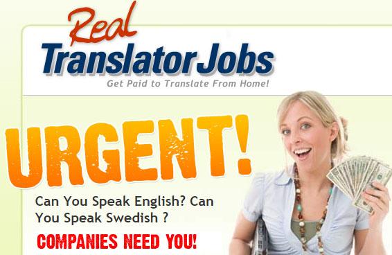 Tjäna pengar på enkla översättningar