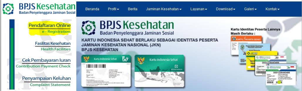 Cara Mendaftar BPJS Kesehatan Perorangan secara Online