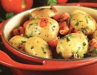 Salada de Batata Picante (vegana)