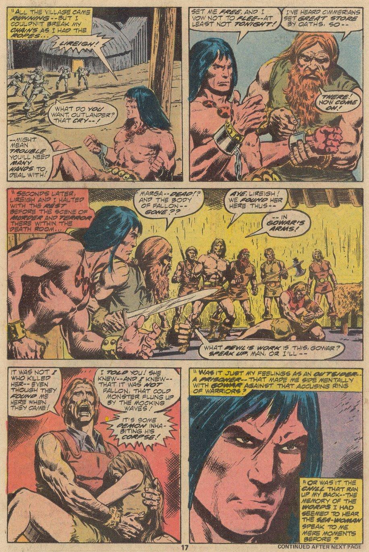 Conan the Barbarian (1970) Issue #69 #81 - English 12