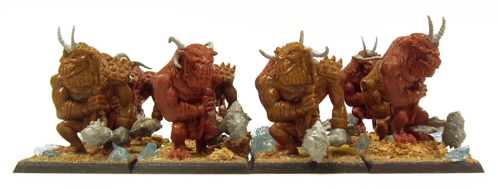 ogres trolls minotaurs conversion ogro troll minotauro