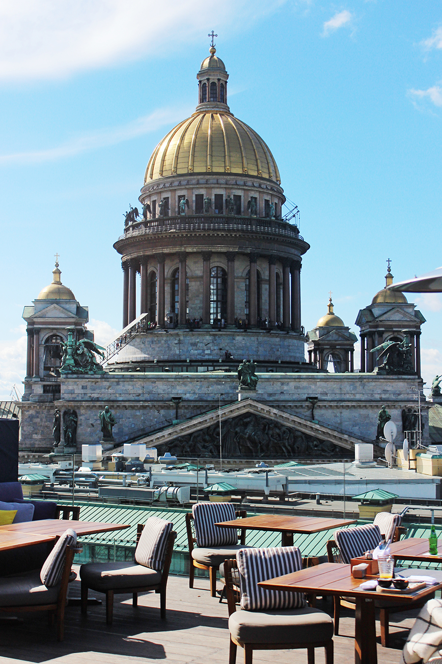 To Say That The Rooftop Bar Is Place Be In St Petersburg Would Understatement Of Summer Me Was Just A For