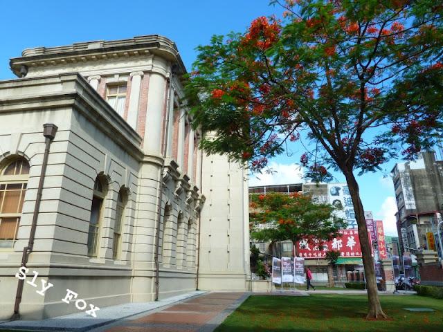 台南市公會堂鳳凰木