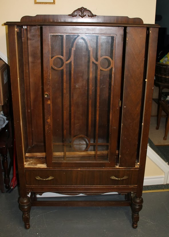 Rebuiltstuff: Before/After China Cabinet